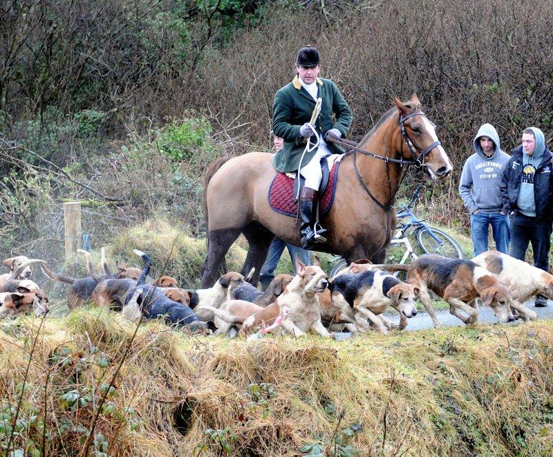 Hunting Trekking Holidays Dingle Peninsula Hunting Horseback Ireland